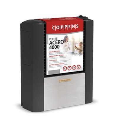 Calefactor Coppens 4000 Kcal/h Peltre Acero