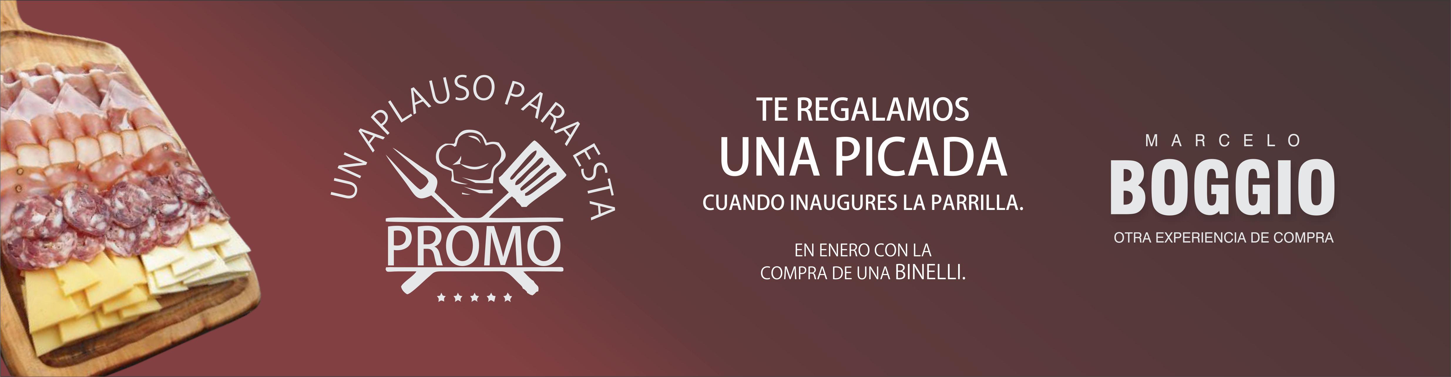 Marcelo Boggio - Parrilla +picada